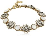 Lucky Brand Mother of Pearl Squash Blossom Link Bracelet