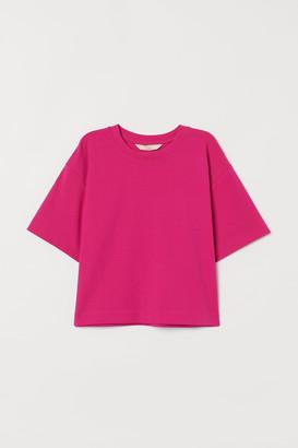 H&M Boxy pima cotton T-shirt