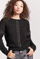 Forever 21 Pierced Grommet Sweater