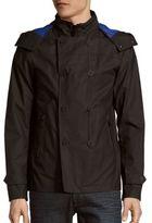 Michael Kors Rubberized Solid Jacket