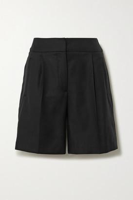 LOULOU STUDIO Tureia Wool-twill Shorts