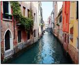 """Old Glory Colorful Venice Canal Photo Framed Wall Art Paulo Monteiro - 11"""" x 14"""""""
