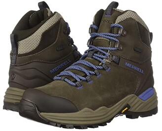 Merrell Phaserbound 2 Tall Waterproof (Boulder) Women's Shoes