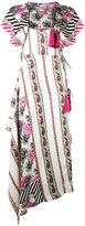 Etro printed tassel dress - women - Silk/Polyester/Acetate - 42