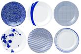 Royal Doulton Pacific Porcelain Accent Plates (Set of 6)
