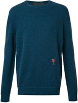 The Elder Statesman cashmere crew neck jumper - unisex - Cashmere - M