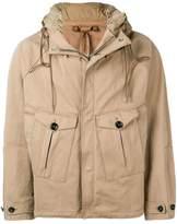 Ten C hooded short parka