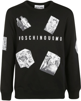 Moschino Graphic Photo Printed Sweatshirt