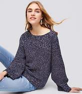 LOFT Petite Ribbed Boatneck Sweater