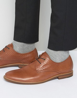 Aldo Sondano Derby Shoes In Brown Leather