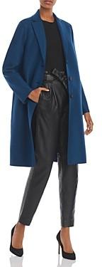 Harris Wharf Pressed Wool Overcoat - 100% Exclusive