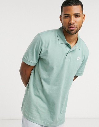 Nike matchup polo shirt in green