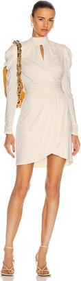 JONATHAN SIMKHAI STANDARD Mockneck Mini Dress in White | FWRD