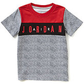 Jordan Little Boys 4-7 Printed Color Block Short-Sleeve Tee