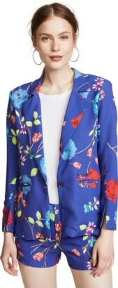 Parker Women's Ginger Long Sleeve Fitted Floral Blazer