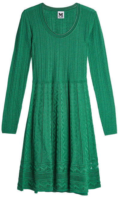 M Missoni Knit Dress with Virgin Wool