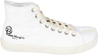 Maison Margiela High-cut Slit Toe Sneakers