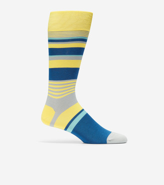Cole Haan City Stripe Crew Socks