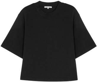 Cotton Citizen Tokyo Black Cropped Cotton T-shirt