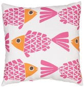 Lulu & Georgia Brightwater Fish Indoor/Outdoor Pillow, Pink