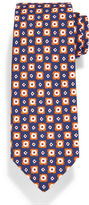 Isaia Printed Flower Medallion Tie