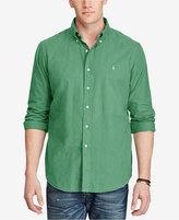 Polo Ralph Lauren Men's Big & Tall Garment-Dyed Cotton Shirt