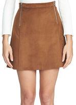 1 STATE A-Line Mini Skirt