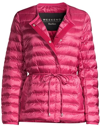 Max Mara Curvone Packable Puffer Jacket