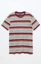 Obey Berkeley Striped Pocket T-Shirt