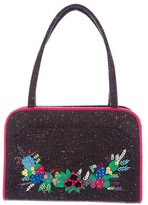 Lulu Guinness Embellished Tweed Tote