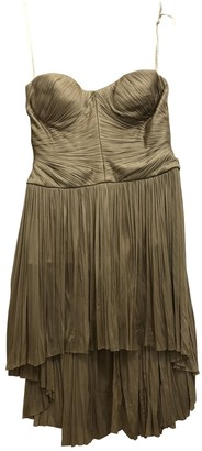 Maria Lucia Hohan Beige Silk Dresses