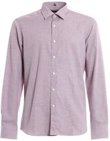 Fay Micro Patterned Cotton Shirt