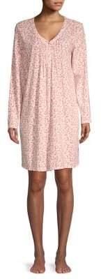 Carole Hochman Printed Cotton Sleepshirt