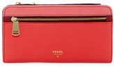 Fossil Preston Colorblock Leather Clutch