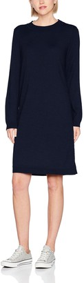 Selected Women's Sfeileen Ls Knit O-Neck Dress