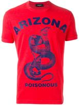 DSQUARED2 Arizona poisonous snake T-shirt - men - Cotton - XS