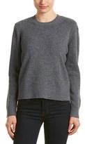 The Kooples Rib-knit Wool & Yak-blend Sweater.