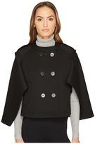 Neil Barrett Oversized Cape Sleeve Jacket Women's Coat