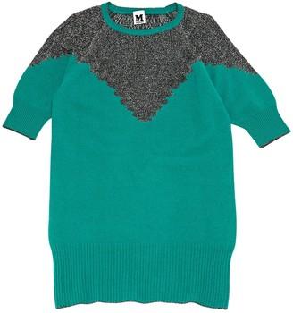 M Missoni Green Wool Dresses