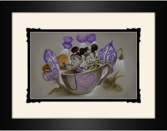 Disney ''Quali-tea Time'' Framed Deluxe Print by Noah