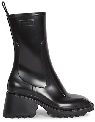Chloé Betty PVC Rain Boots