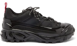 Burberry Arthur Exaggerated-sole Trainers - Black