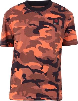McQ Camouflage Print T-Shirt