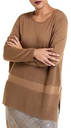 Marina Rinaldi, Plus Size Antifona Merino Wool Sweater