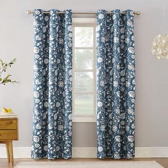 Sun Zero 1-Panel Jorah Thermal Insulated Curtain
