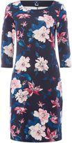 Gant Floral 3/4 Sleeve Jersey Dress