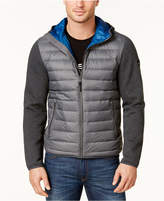 MICHAEL Michael Kors Men's Packable Hooded Quilted Jacket