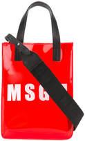 MSGM logo cross-body bag