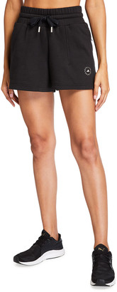adidas by Stella McCartney French-Terry Sweat Shorts