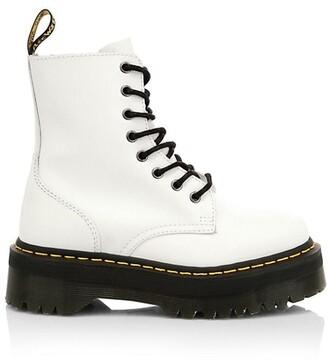 Dr. Martens Jadon Leather Combat Boots